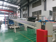 PVC artificial marble sheet extrusion line